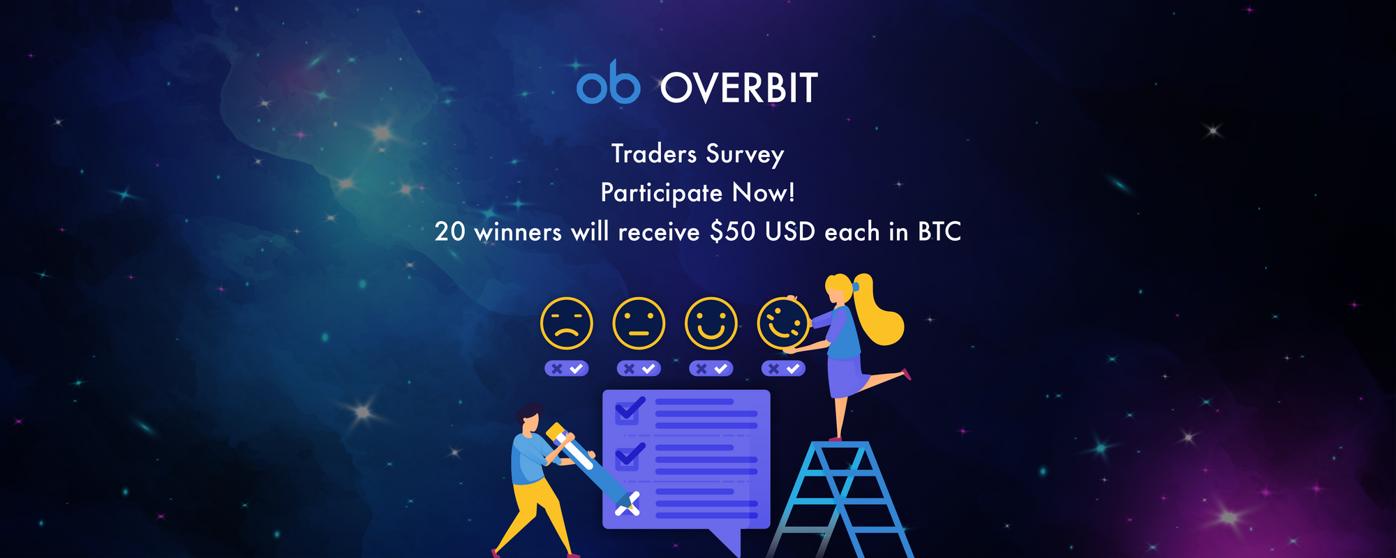 Overbit Traders' Survey Launch