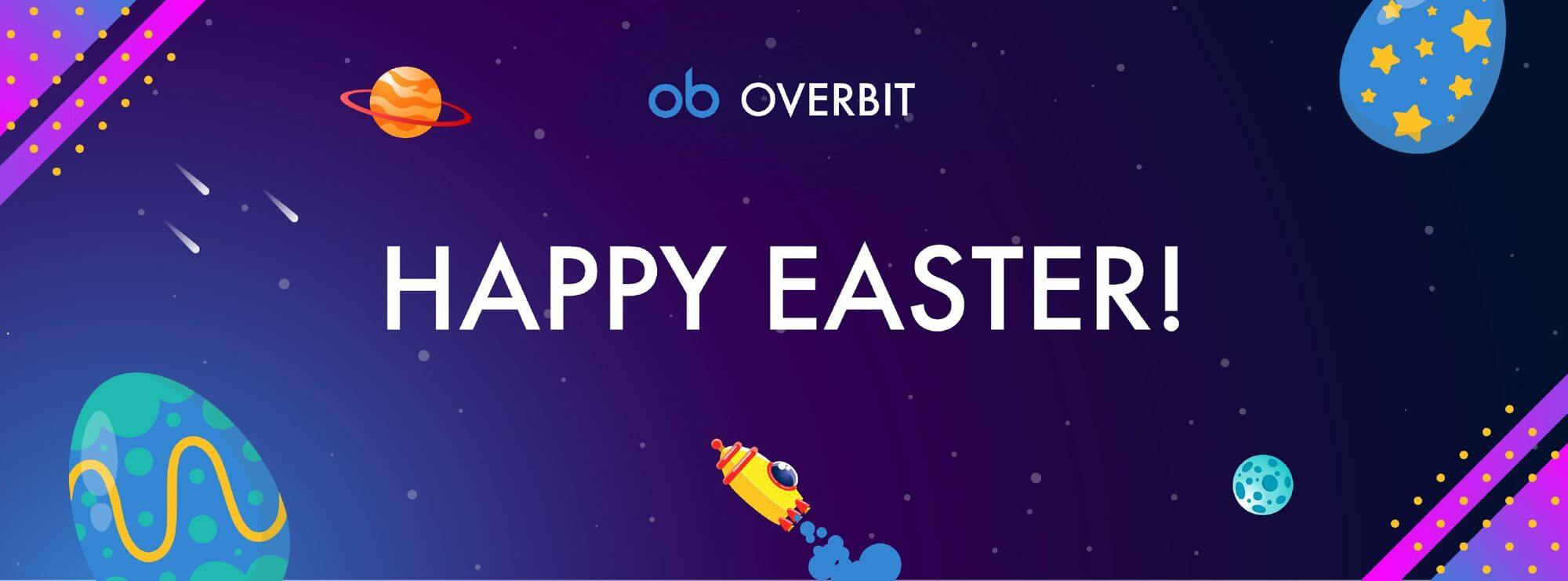 Win Daily Prizes On Overbit During The Easter Week