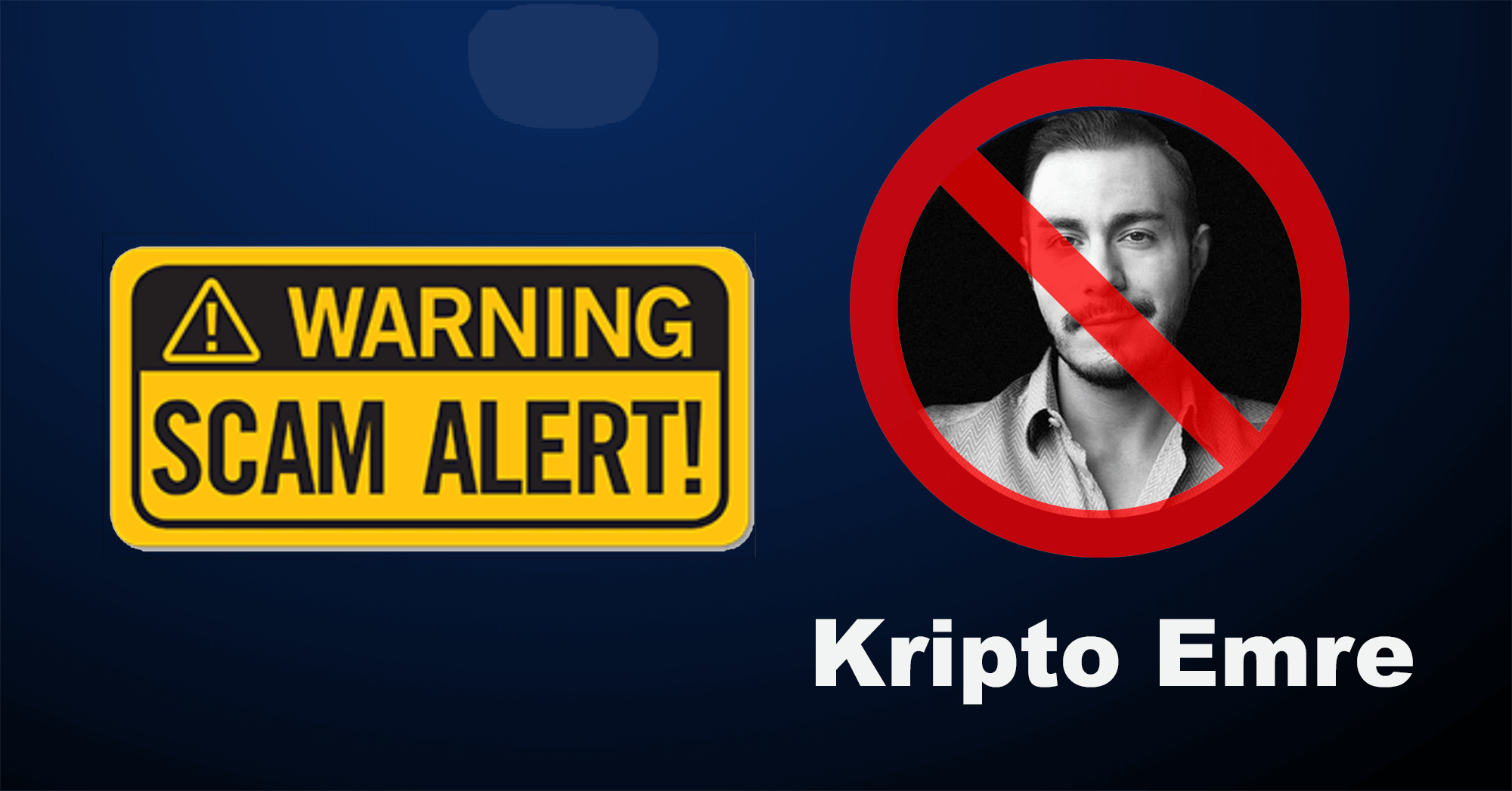 Overbit is for a United Crypto Community - Emre Aksoy (Kripto Emre) is a Scammer and We Want to Share our Experience