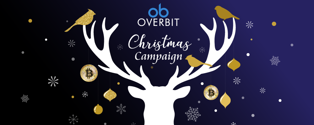 Overbit Merry Christmas Fun Campaign with USD $40,000 to be Won!