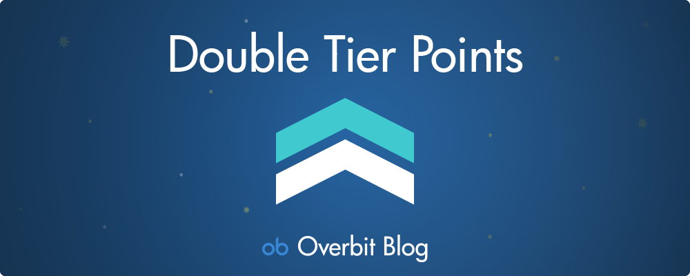 Double Your Tier Points!