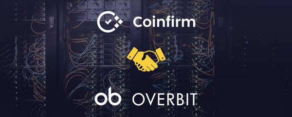 Overbit Announces Partnership with Leading AML Solutions Provider Coinfirm