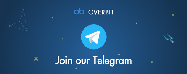 Overbit Launches Official Telegram Announcement Channel and Stickers