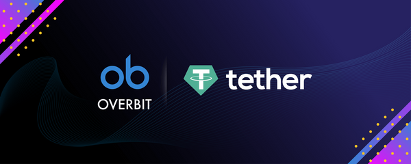 Overbit now supports USD Tether Deposits